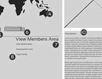 Wireframe WorldSurf page two