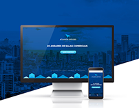 Landing Page - Atlantis Offices Design