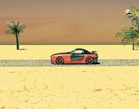 BMW in Autodesk Maya