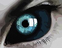 E V I L Book Cover Illustration