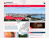 Redesign of the portal Azerbaijan.az