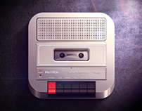 Cassette Recorder iOS icon
