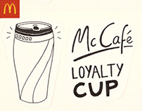 McDonald's McCafe - Loyalty Cup