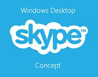 SkypeUI for Windows (Desktop version)