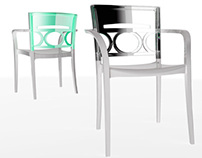 Athena Chair and Armchair - 2012 - Grosfillex