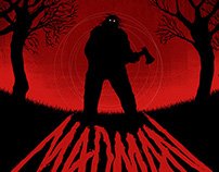 Madman (1982) / Arrow Blu-Ray Cover
