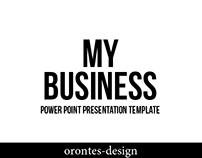 My Business   Presentation   Template