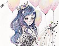 "Illustration for Babushka Project ""Karma"""