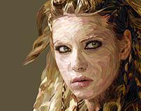 Vikings, Lagertha & Ragnar, Portraits