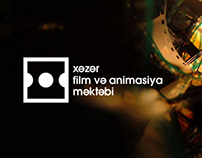Xəzər Film and Animation School Logo