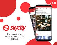 Skycity 2.0 | Social Networking Platform
