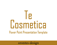 Te Cosmetica | Power Point Presentation | Template
