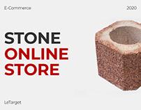 Stone Online Store / E-commerce / UX-UI Design