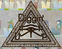 "NILE LONG 1st Album ""Diggin' It Up"" & MusicVideo"