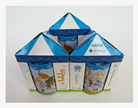 Packaging for children piggybox