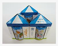 Packaging for children piggybox