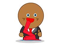Personaje para Campaña de Snickers