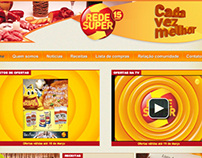 Rede Super - Website