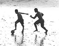 Projeto fotográfico - Futebol à Beira Mar
