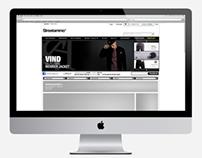 Streetammo 2012 - Web Design / Grid