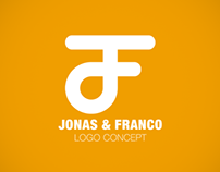 JONAS & FRANCO Logo Concept