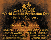 See The Good Benefit Concert poster