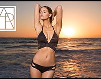 Aerin Rose Swimwear Branding