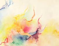 RIVENDELL : watercolour exploration