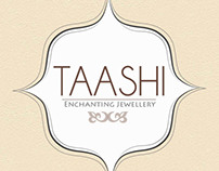Logo Design for TAASHI, enchanting jewellery