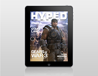 Hyped Magazine #4 for iPad