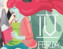 Propuesta cartel IV  feria del libro Independiente