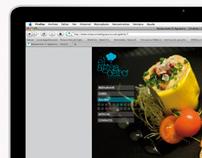 web restaurante El Aguacero