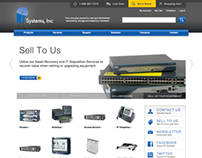 P3 Systems website
