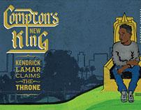 """Kendrick Lamar"" Magazine Spread"