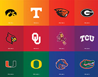 College Logos Organized