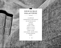 Dominique Malaterre — Site web