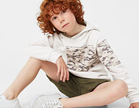 MANGO KIDS BOY - Sweatshirt Camo
