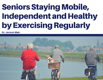 Seniors Staying Mobile, Independent and Healthy