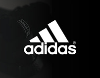 """Adidas "" Website Design Concept"