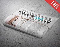 Newspaper / Newsletter Free PSD Mockup