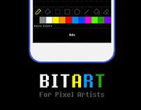 BITART App for Pixel artists