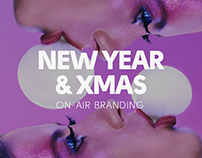 branding for christmas and new year holidays