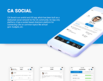 CA Social - Chatroom Based Social Network