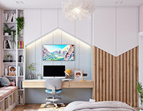 HK1 Bedroom for girls