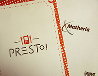 Matheria + Presto! Identity