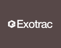 Exotrac Brand Identity, Web & Collateral