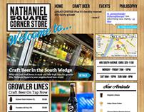 Nathaniel Square Corner Store website refresh