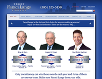 Faraci Lange website refresh