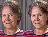 Retoque facial avanzado