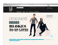Barneys COOP eCommerce Site